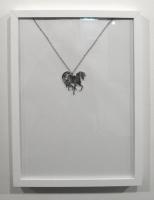 Mirror plexi necklace, chain