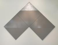 300 x 300 cm. Acrylic on linien